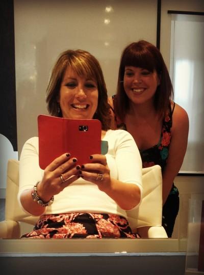 Barb & Lor Selfie