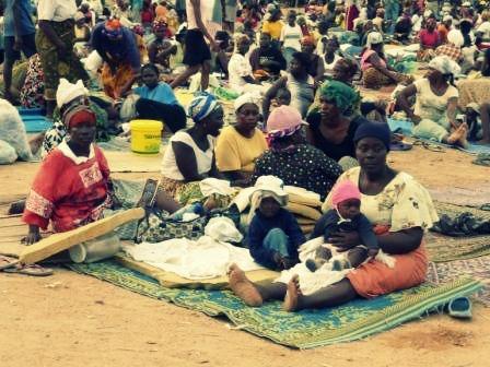 Liberian Refugee Camp Protest