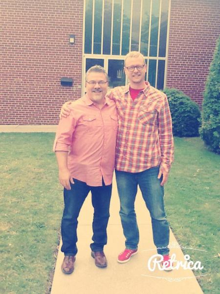 Darrin and J-M, co-pastors
