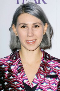 Zosia-Mamet - grey hair